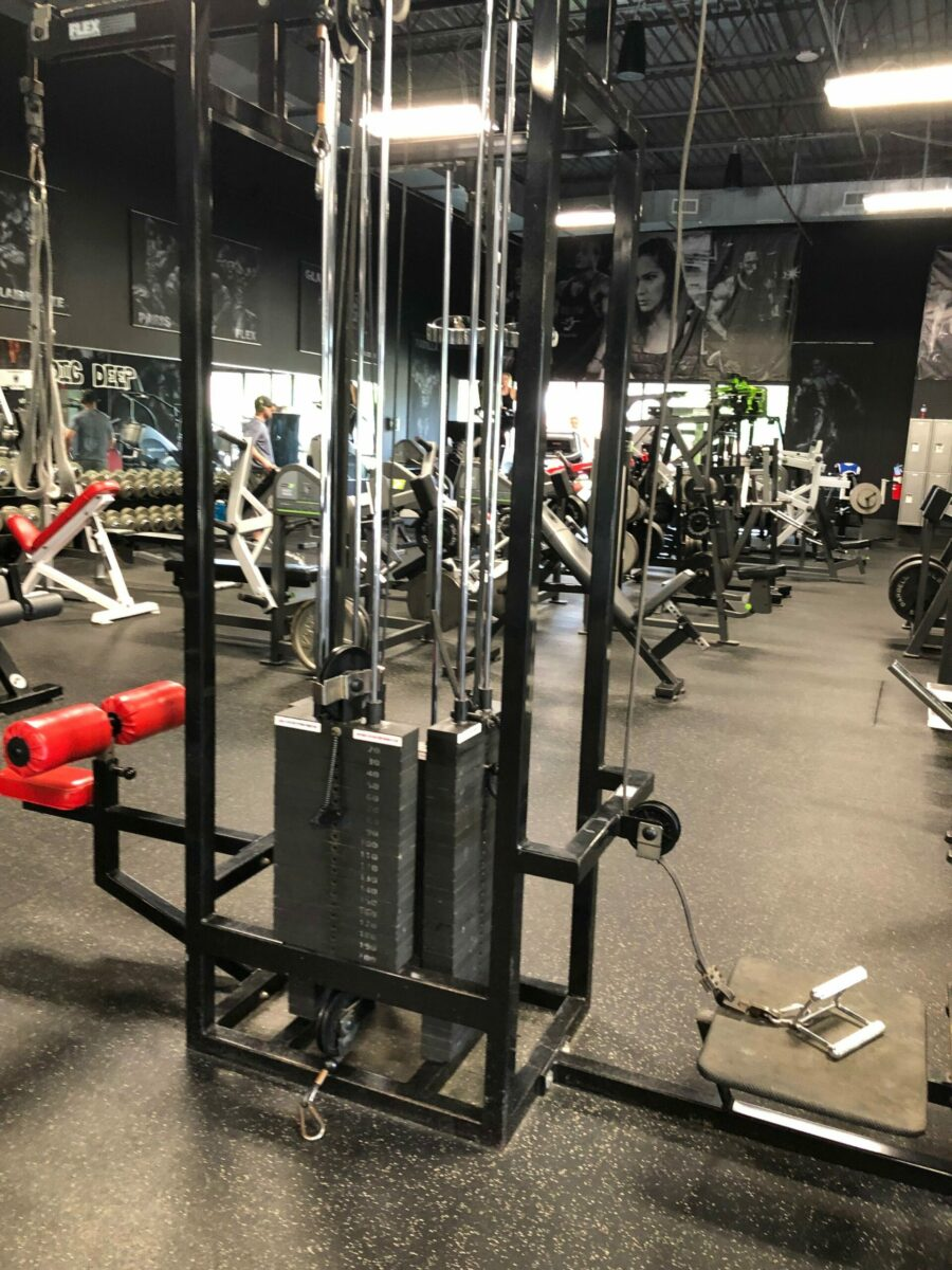 Used Flex Fitness 5 Station Multi Jungle